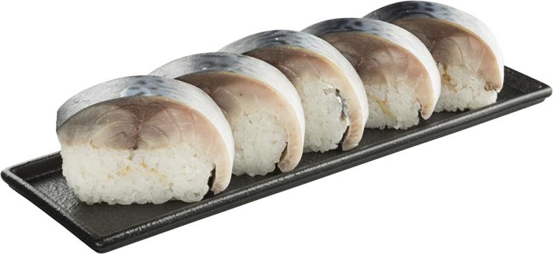 超肉厚とろ〆さば棒寿司