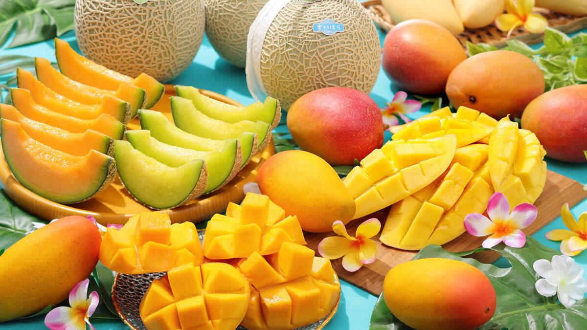 スイーツパラダイス「マンゴー食べ放題」