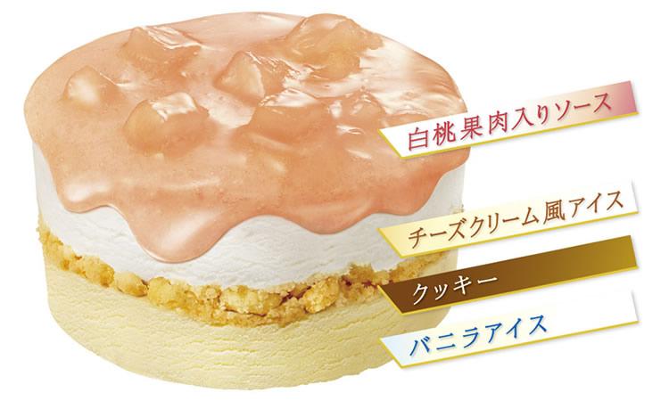エッセルスーパーカップ Sweet's 白桃のタルト