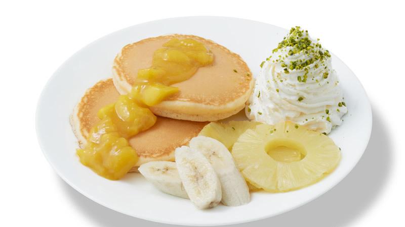 トロピカルフルーツパンケーキ