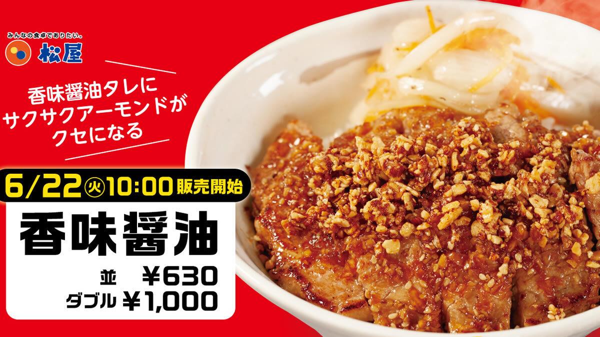 松屋「ポークステーキ丼」