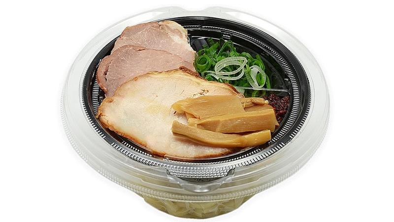 セブンイレブン「中華蕎麦とみ田監修 濃厚豚骨魚介冷しW(ダブル)焼豚つけ麺」