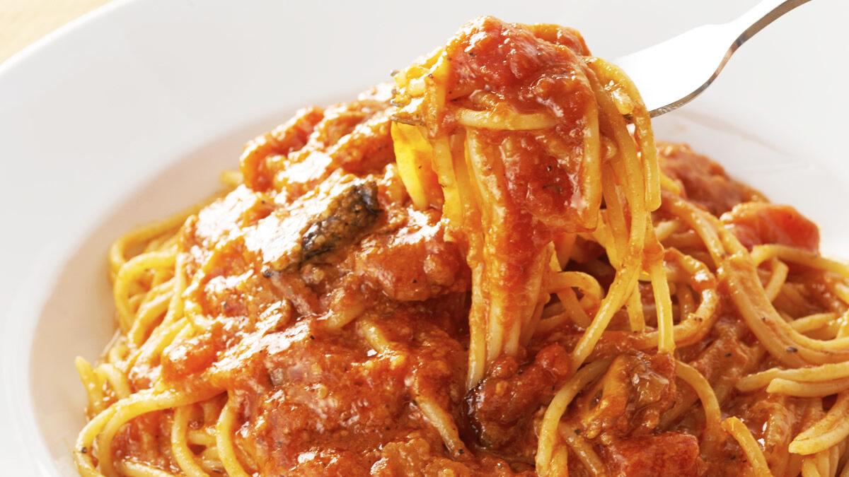 カプリチョーザ「トマトとニンニクのスパゲティ」半額