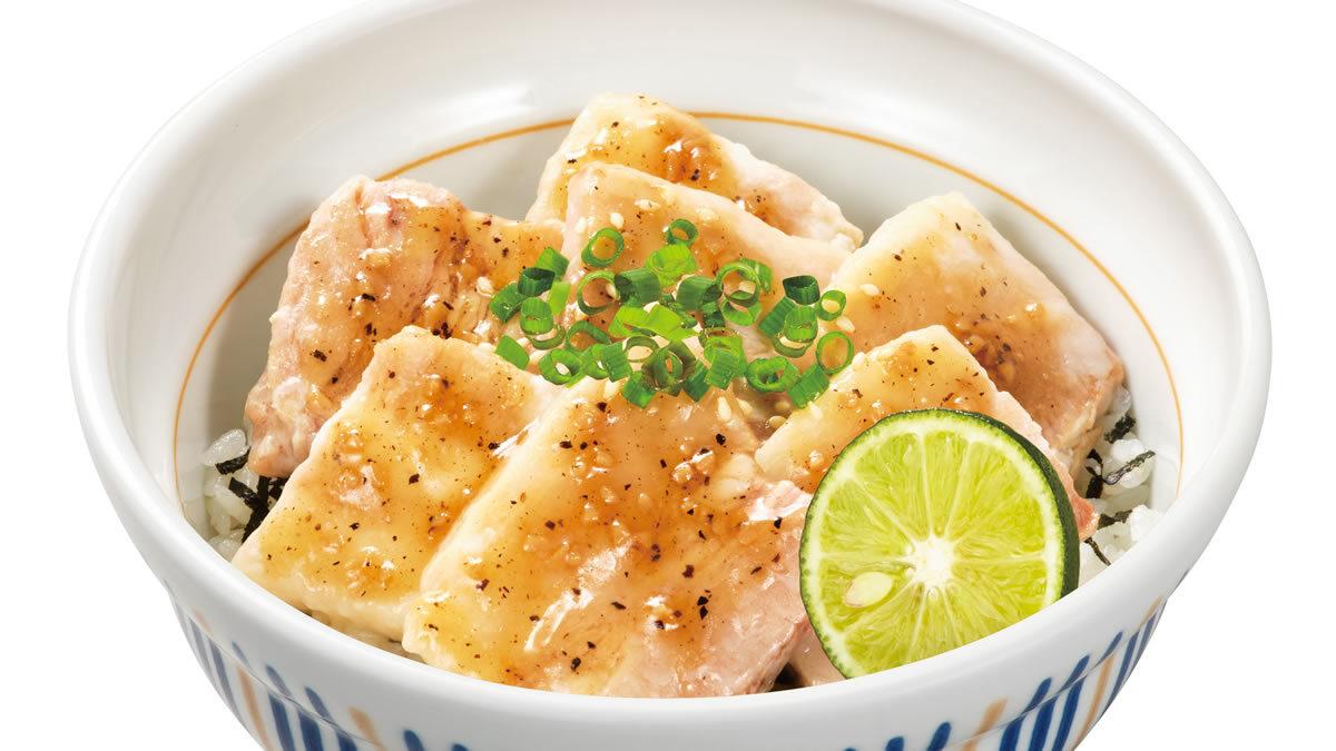 なか卯「うま塩 豚角煮丼」