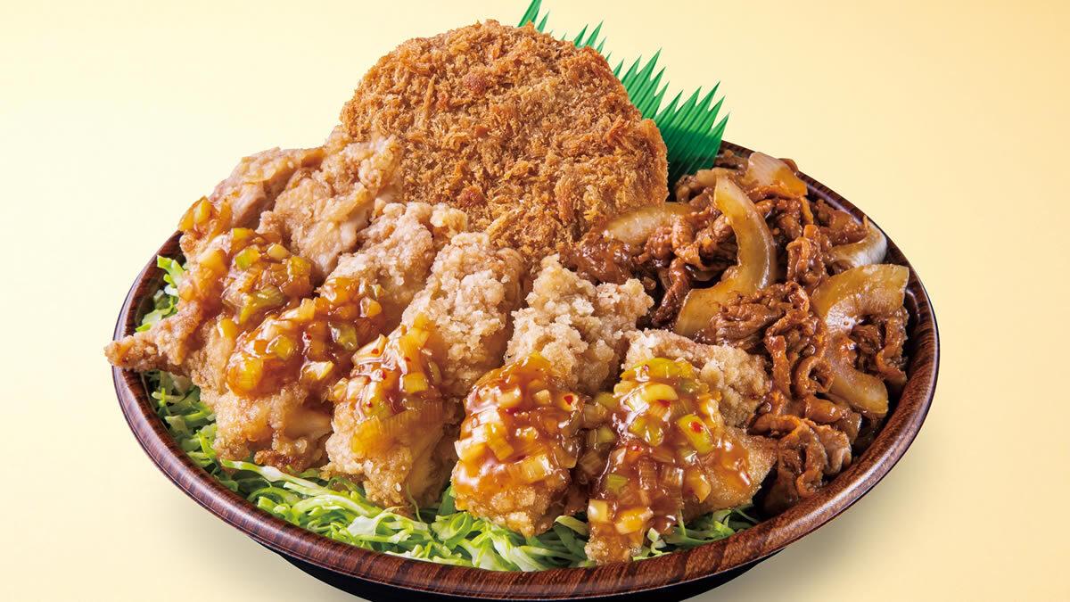 オリジン弁当 29日 肉トリプル丼