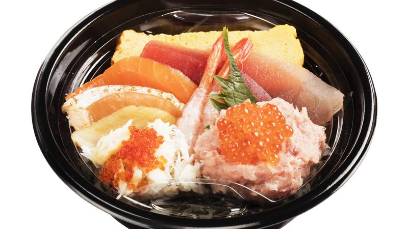 10種の海鮮丼