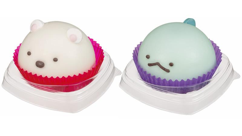 おひとりさまサイズの「すみっコぐらしケーキ」セブンイレブン