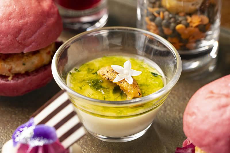 ポロ葱とポテトのムース