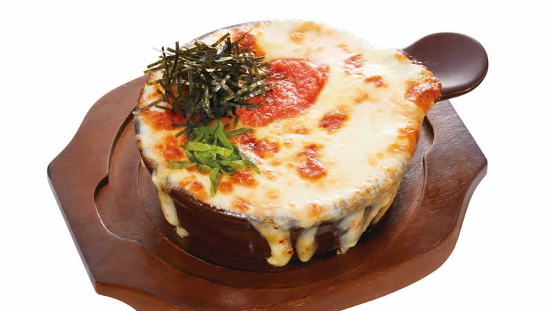窯焼きチーズパスタ ~明太子 クリーム~