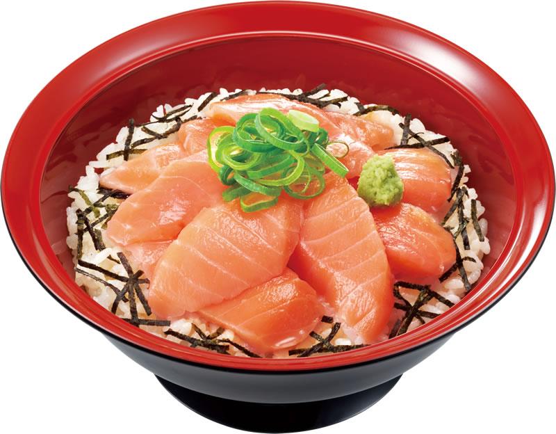 すき家「サーモン丼」