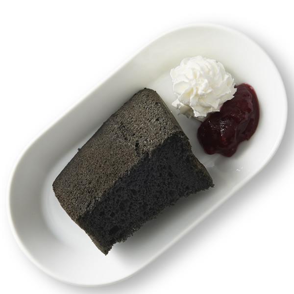 ブラックシフォンケーキ