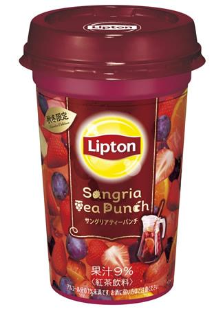 森永乳業「リプトン Sangria Tea Punch(サングリアティーパンチ)」