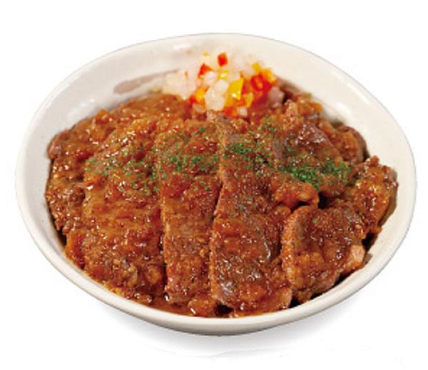 ビフテキ丼ダブル 香味ジャポネソース