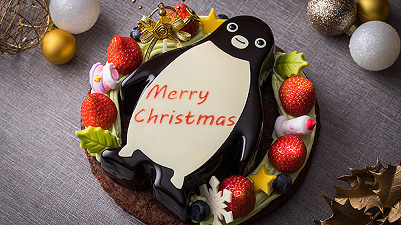 Suicaのペンギン クリスマスリースケーキ