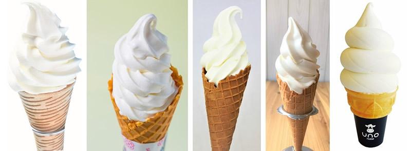 北海道ソフトクリームMarche