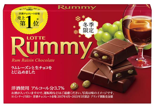 ロッテ洋酒チョコ「ラミー」