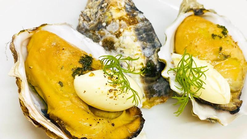 播磨灘産牡蠣の燻製