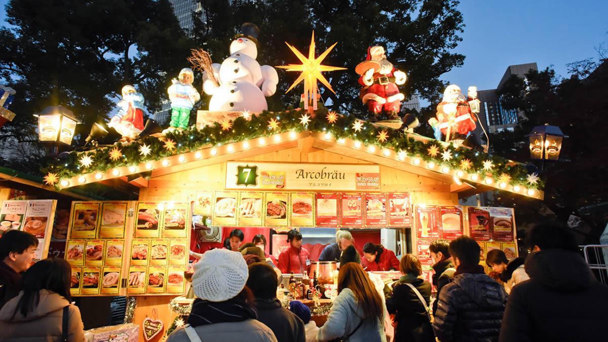 東京クリスマスマーケット 日比谷公園